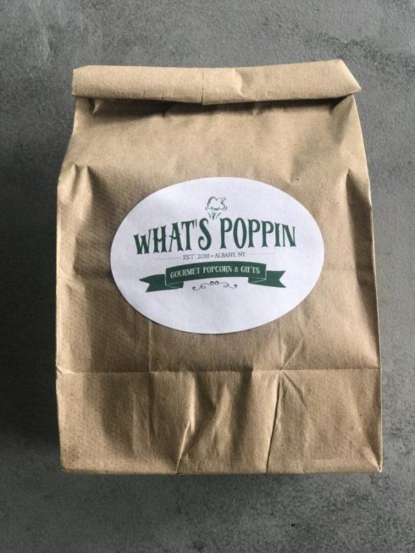 What's Poppin Albany NY Popcorn Medium Bag of Popcorn