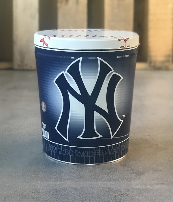 New York Yankees Bucket of Popcorn Gift