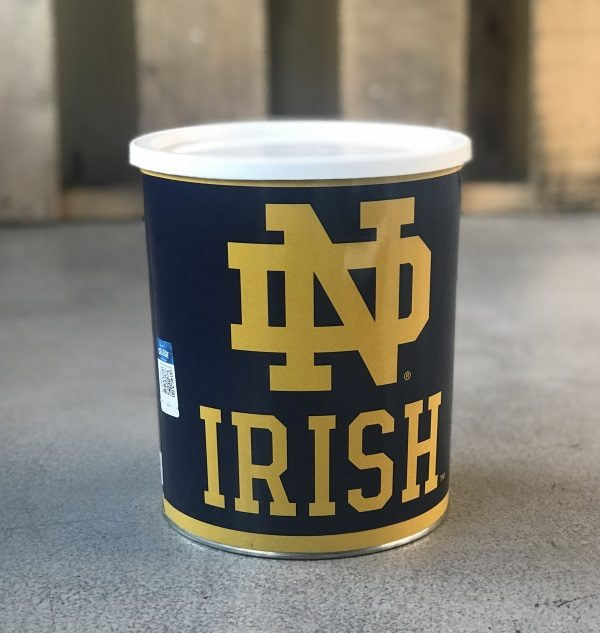 notre dame fighting irish gift of popcorn
