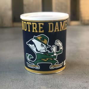notre dame fighting irish tin