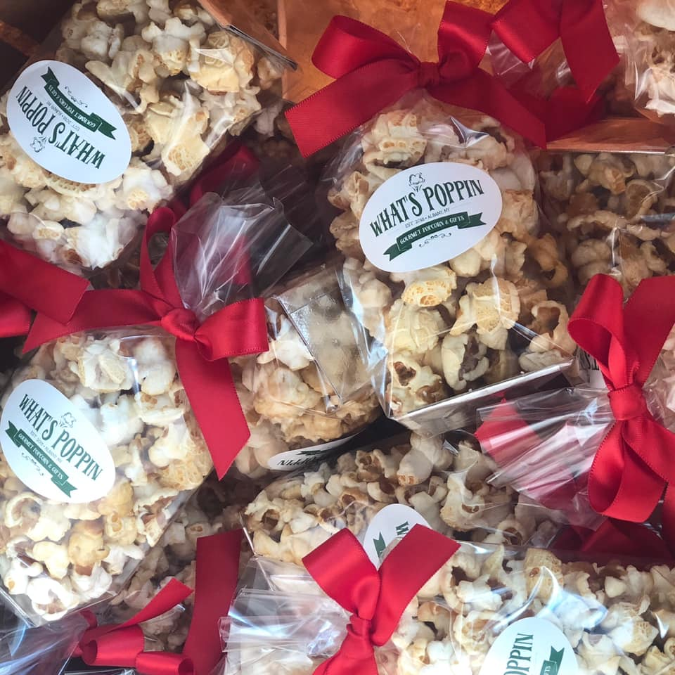 Custom Popcorn Favors For Any Event What S Poppin